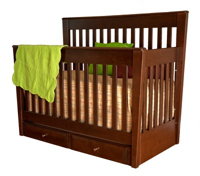 Crib by College Woodwork